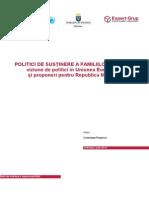 Politici de Sustinere a Familiilor Cu Copii