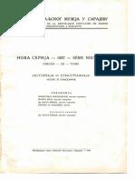 Glasnik Zemaljskog muzeja 1957