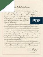 Convention de Genève du 22 août 1864 -  procès verbal d'échange