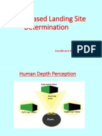 Vision Based Landing Site Detection