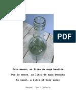 Polo menos, un litro de auga bendita - Por lo menos, un litro de agua bendita - At least, a litre of holy water