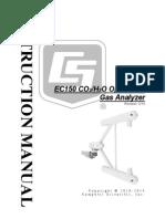 CO2/H2O Gas Analyser