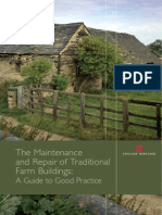 Maintenance and Repair of Traditional Farm Buildings