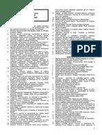 Intrebari Biochimie Examen