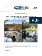 WATCH Technical Report No. 26 Simulation of Low Flows and Drought Events