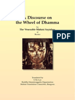 A Discourse on the Wheel of Dhamma
