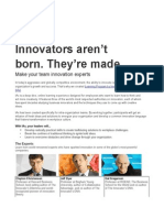 Make Your Team Innovation Experts