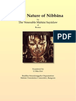 On the Nature of Nibbana