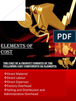 Elements of Cost