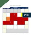 Excel 2014 Calendar