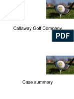 callawaygolfcompanycgc-110330093402- callaway golf company case analysisphpapp02