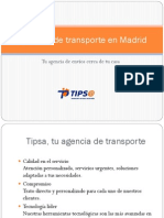 Agencias de Transporte en Madrid