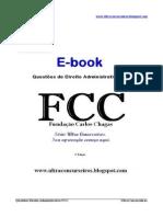 E-book Direito Administrativo FCC