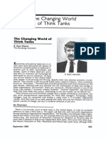 Weaver Changing Worlds of Think Tanks