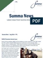 Summa Group Aug 2014 PT1