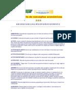 Diccionario de Conceptos Económicos