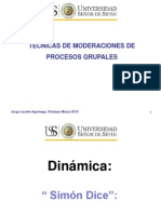 Tecnicas de Moderacion de Procesos Grupales