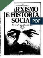 Hobsbawm Marxismo e Historia Social