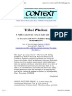 Tribal Wisdom - A Native American View of Male and Female