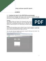 Customer Specific Reports