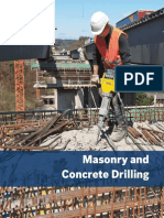 Masonry and Concrete Drilling Catalog