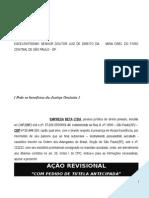 Acao Revisional Contrato Abertura Credito Alienacao Fiduciaria SEM Contrato Modelo 310 BC177 2014