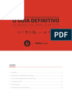 O Guia Definitivo de Marketing para Startups