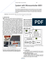 Researchpaper Sun Tracking System With Microcontroller 8051