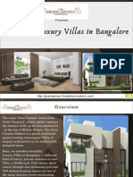 Beautiful Luxury Villas in Bangalore