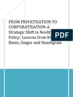 From Privatisation to Corporatisation- Group 1