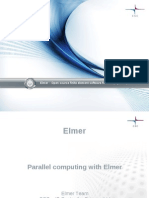 Parallel Computing With Elmer