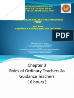 Topic 3 Roles of Ordinary Teachers as a Guidance Teacher