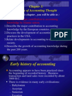 History of Accounting Thought 1