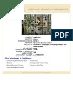August 2014 Independent External Assessment Quanta Shanghai
