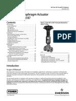 Fischer 667 Diapraghm Actuator