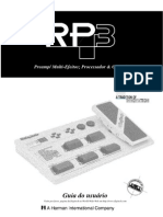 Manual Do Usuario Digitech RP 3