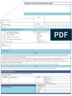 New Termination Form