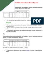 Estadística de Correlacion Bidimensional Cuestionario Test