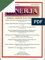 Analytic Hierarchy Process (AHP) dan Penentuan Produk