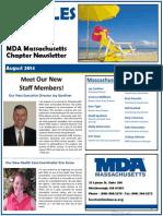 MDA Massachusetts August Newsletter