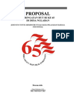Proposal HUT RI Ke 65