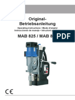 BDS Drill Operating Manual