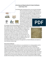 Reconstituted Rice and Its Scope and Opportunities for Protein Fortification