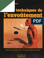 Techniques de l'Envoûtement - Serge Hutin