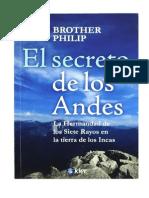 El Secreto de Los Andes - Brother Philip