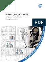 Programa Autodidactico VW No. 196 - El Motor 1,4 Ltr., 16 v, 55 KW