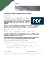 Boletín Com Ext - Glosa 2013