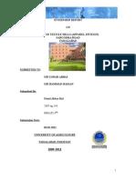 Internship Report Mtm