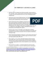 PLEDGE TO PROTECT SENECA LAKE