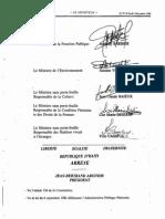 Arrete Creant La Commission Presidentielle Pr La Croissance Et Modernisation Economiques